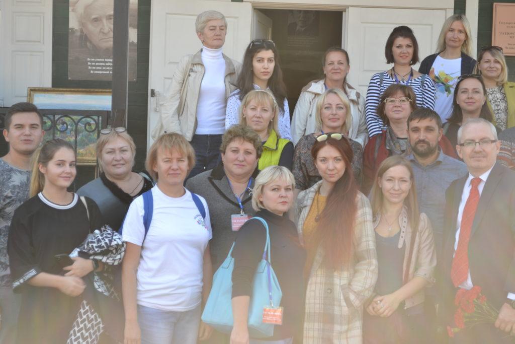 «Поезд будущего» прибыл в хутор Пухляковский.